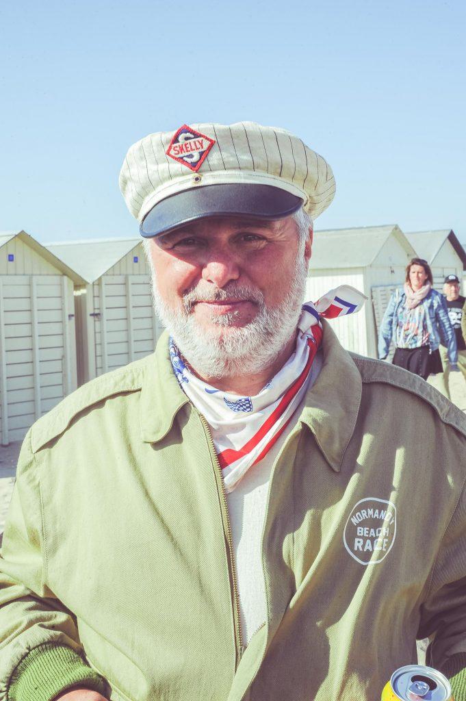 Jean Marc Lazzari, fondateur du Normandy Beach Race